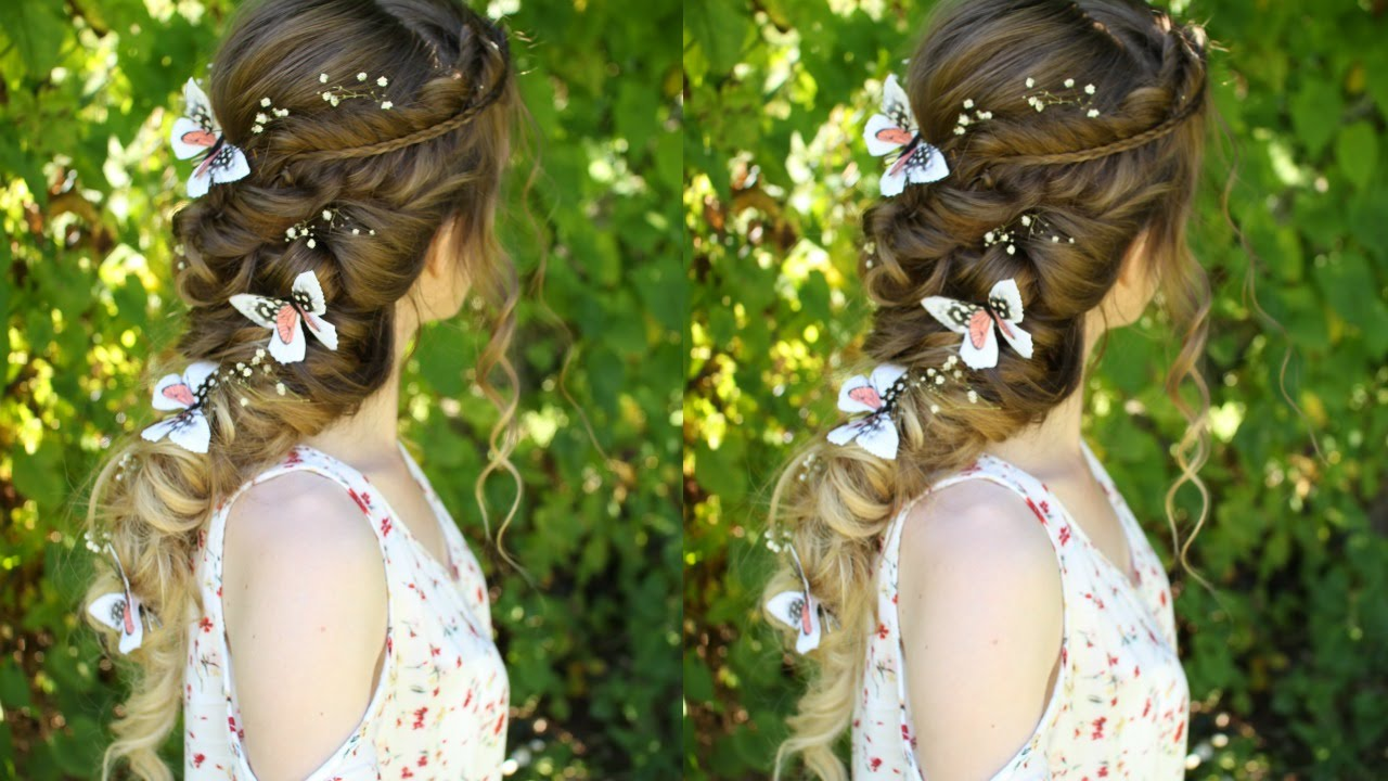 Beautiful Princess Fairy Curl Hairstyle Pretty