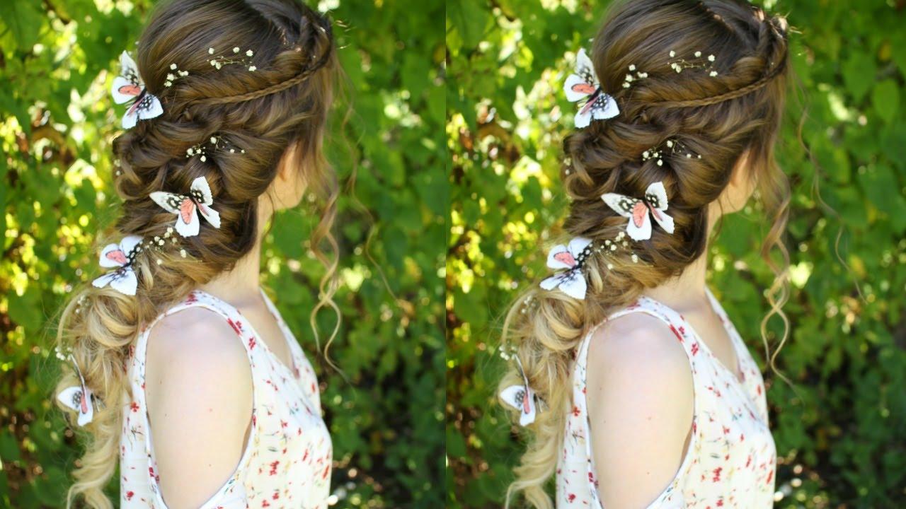 beautiful princess / fairy curl hairstyle | pretty hairstyles | braidsandstyles12