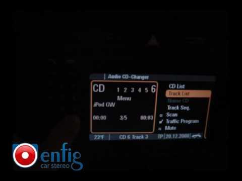 Porsche Cayenne iPod & USB interface with text - Dension Gateway 500 GW51MO2 - Porsche PCM 2.1 Radio