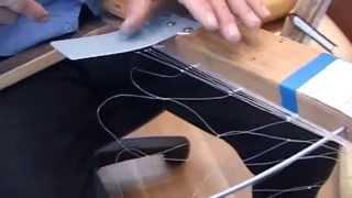 Приспособление для вязки сетей(Вязка рыболовных сетей., 2014-11-16T12:02:13.000Z)