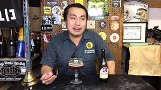 La Trappe Quadrupel (Trappist Belgian Dark Strong Ale) Review - Ep. #1805