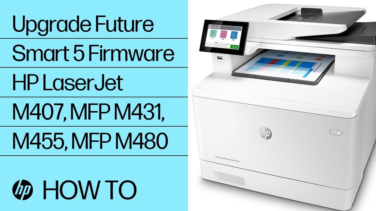 Hp Enterprise Hp Managed Update The Printer Firmware Hp Customer Support