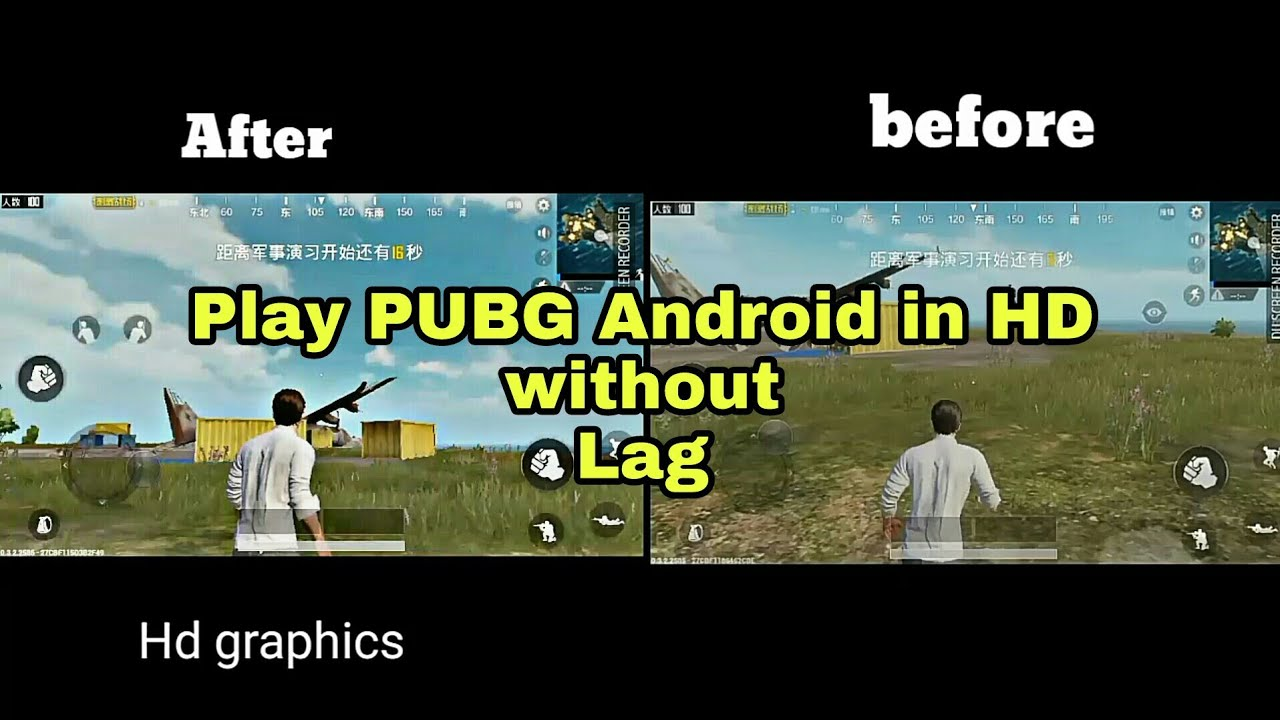 Pubg Hd No Lag: How To Play PUBG Android In HD Without Lag(lightspeed
