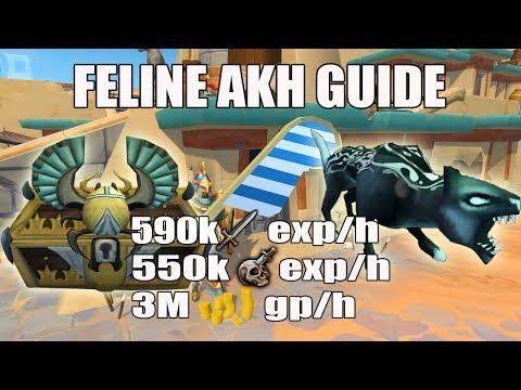 [Runescape 3] Feline Akh Slayer Guide | Soul Devourers | 590k Melee Exp/h | 550k Slayer Exp/h