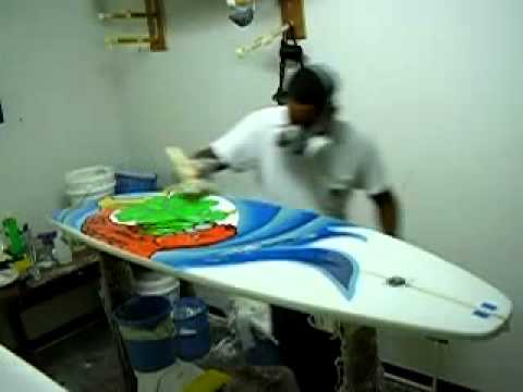 Surfboards Hot Coating By Evelio Surfboards