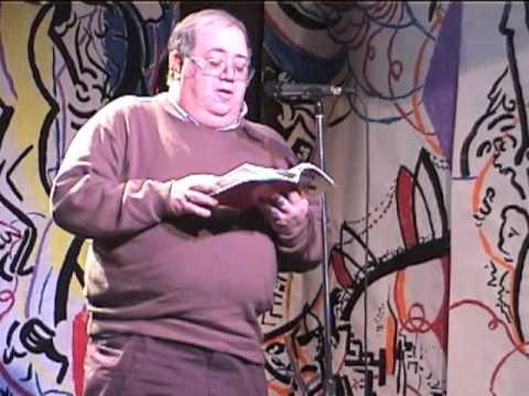 Robert Dunn @ 2004 New Years Alternative Poetry Reading