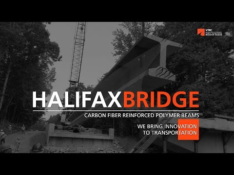 Halifax Bridge - Carbon Fiber Reinforced Beams