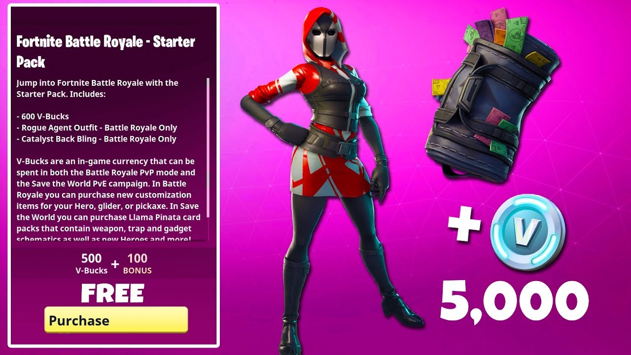 The NEW Fortnite STARTER PACK #3 is HERE… (*UNRELEASED ...