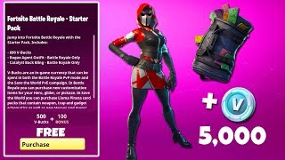 The NEW Fortnite STARTER PACK #3 is HERE… (*UNRELEASED* Skin Gameplay)