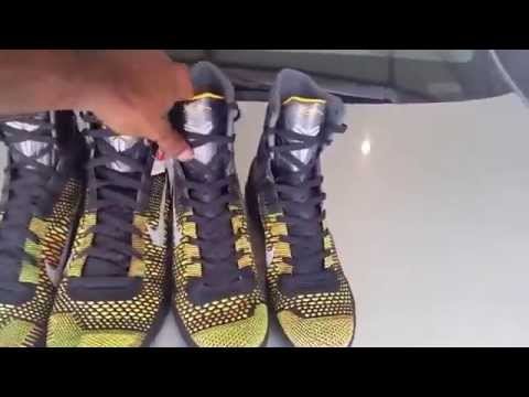 6822a40e1481 Kobe 9 Elite Real vs Fake NEW 2015 REVIEW !!! GIVE AWAY SHOES - YouTube