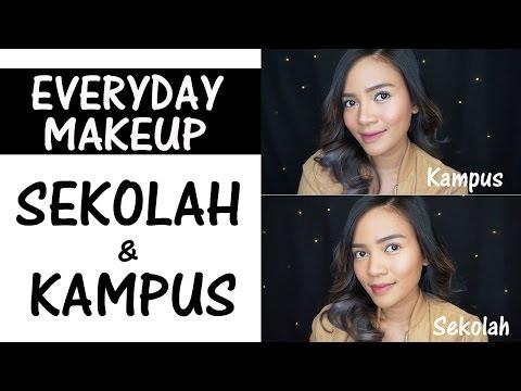 Makeup Sehari-hari Untuk Ke Sekolah & Kampus
