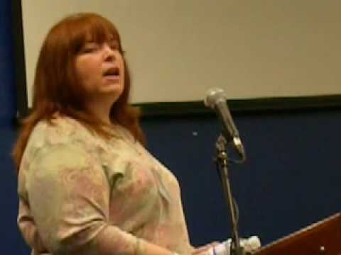 Author Tracie Peterson at Orange County Writer's C...