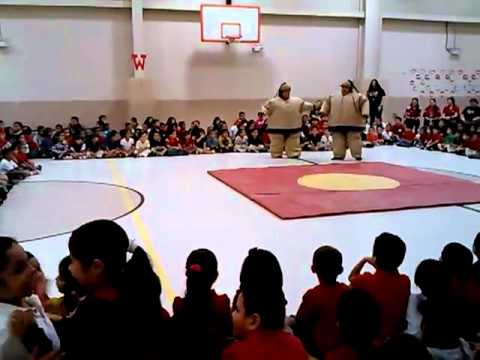 "C-Lo at Ligarde Elementary School ""Sumo Match"""