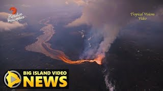 Hawaii Volcano Eruption Update - Tuesday Morning (July 17, 2018)