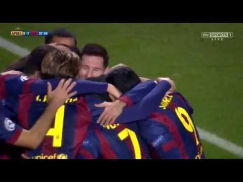 APOEL Nicosia 0 : 4 Barcelona 2014