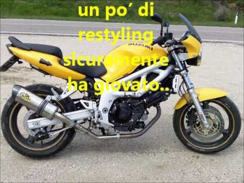 suzuki sv 650 del 2000 una piccola bomba youtube. Black Bedroom Furniture Sets. Home Design Ideas