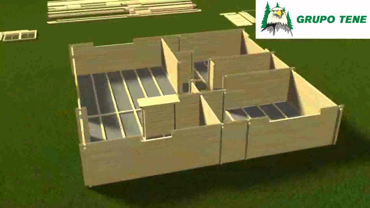 Distribuci n y venta de casas de madera en soria - Casas prefabricadas en valladolid ...