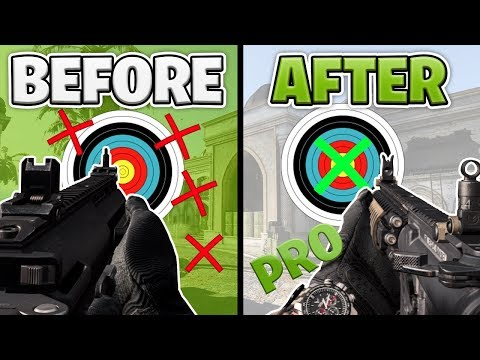 ALL the PROS SECRETS To Aim PERFECTLY in Modern Warfare | Gunskill + Recoil TIPS & TRICKS for MW