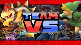 Mario Kart 8 Deluxe - Team Race! (4 Player)