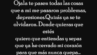 Zion & Lennox ft Cosculluela - te deseo el mal amor + letra