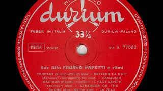 Fausto Papetti   Sax Alto e Ritmi n  3 10   Canadian madison