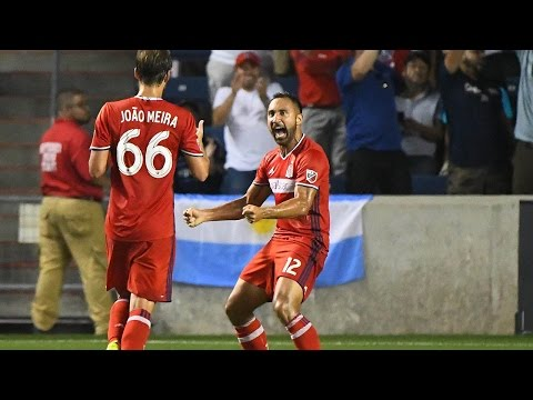 Match Highlights   Chicago Fire 2:2 LA Galaxy