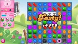 How to complete candy crush saga level #1807 hard level without booster