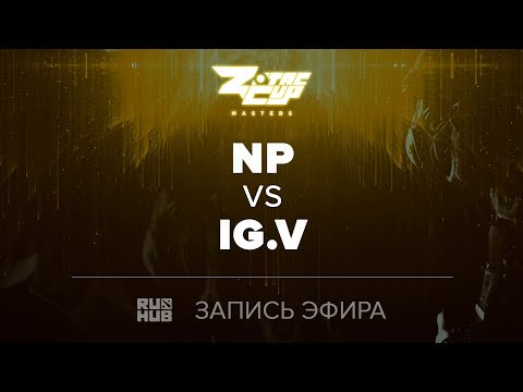 Team NP vs iG.V, ZOTAC Masters Finals, game 2 [Jam, Smile]