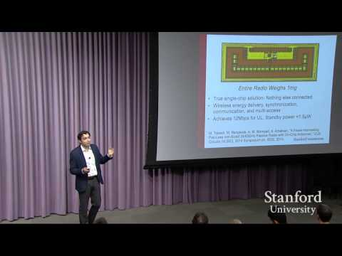Amin Arbabian presents at The Internet of Everything: a Stanford Engineering symposium