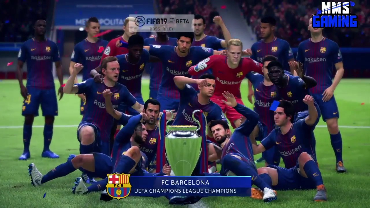 champions league in fifa 19