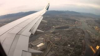 Landing at Vancouver International Airport