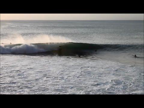 Surfing Padang Padang.