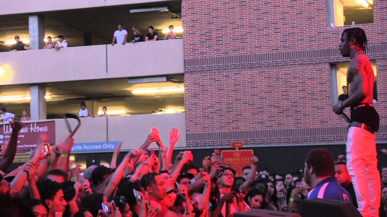 TRAVIS SCOTT - UPPER ECHELON QUINTANA - LIVE @ FOOL'S GOLD DAY OFF 2015 - 8.29.2015