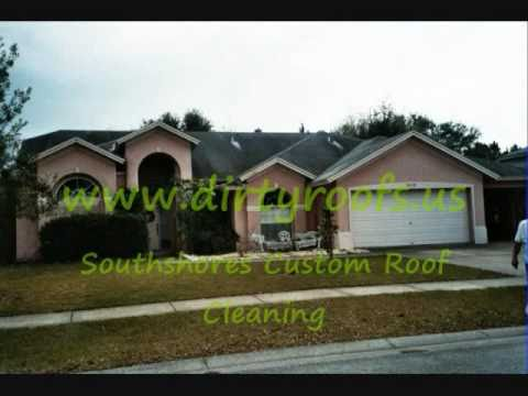 Tampa Florida. Southshores Roof Cleaning  813-672-6330