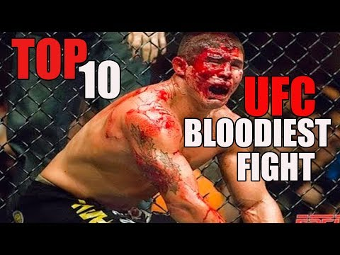 TOP 10 BLOODIEST FIGHT IN UFC HISTORY 2019