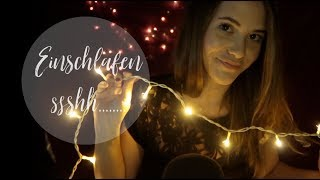 ASMR Einschlafen in 16 Minuten 💤 #christmasedition | asmr deutsch/german