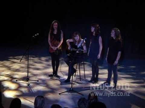 NYDS 2010 - Student Night - 07 (Hallelujah - Shannon Evison, Hannah Brewer, Toby King, Livvy Nonoa)
