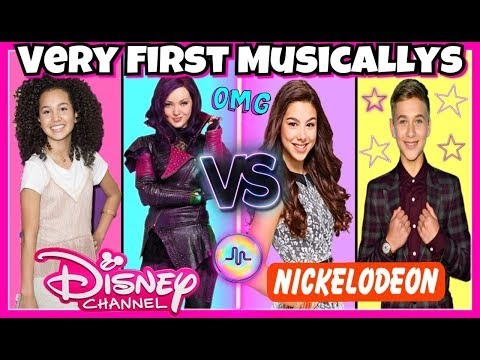 Disney Stars Vs Nickelodeon Stars First Musical.lys Battle | Top Famous Stars Very First Musically