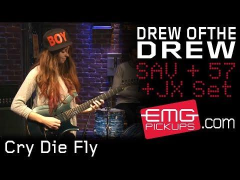 "Drew OfThe Drew perform ""Cry Die Fly"" live on EMGtv"