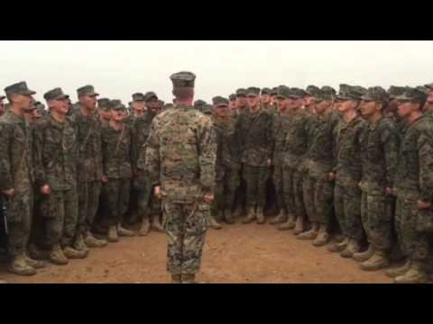 Marines Hymn at the top of the Reaper