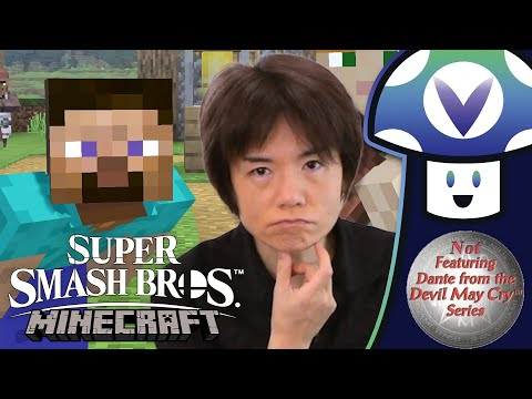 "[Vinesauce] Vinny – Super Smash Bros. Ultimate – Mr. Sakurai Presents ""Minecraft Steve"""