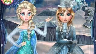 NEW мультик онлайн для девочек—Принцессы Эльза и Анна—Игры для детей