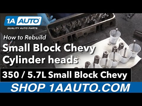 How to Rebuild Small Block Chevy 350 5.7L Cylinder Heads