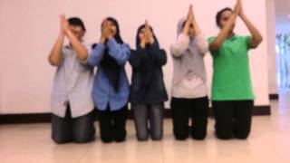 Video tutorial Tari Saman (hanya suara syech dan rapai) by SAFIR FIB UB