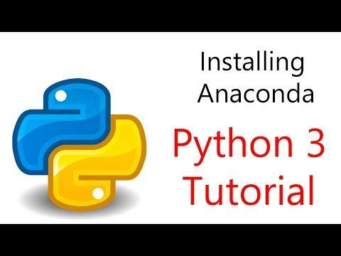 Installing Anaconda (Windows) and Basic Conda commands - YouTube