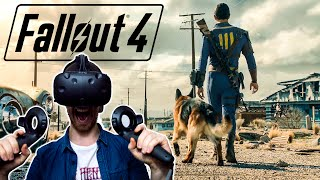 NEVER TRUST MEN WITH HATS Fallout 4 in VR 1 - HTC Vive Gameplay