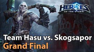 Team Hasu vs. Skogṡapor - MSC Grand Final - Heroes of the Storm 2020