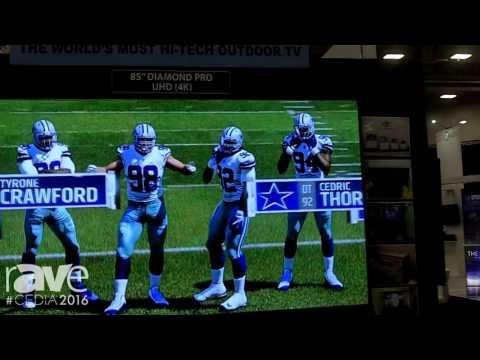 CEDIA 2016: Mirage Vision Displays UHD 4K TV