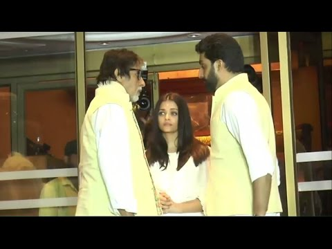 Aishwarya's Father Prayer Meet | Chautha | Aishwarya Rai, Amitabh Bachchan, Abhishek & Other Celebs