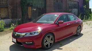 2017 Honda Accord Sport | Road Test & Review